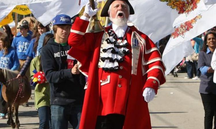 Markham fair parade